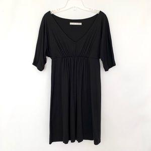 Susana Monaco High waist Dolman Sleeve Mini Dress